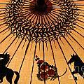 Thai Umbrella 1 by Bob Christopher