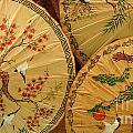 Thai Umbrellas 2 by Bob Christopher