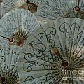 Thai Umbrellas 3 by Bob Christopher