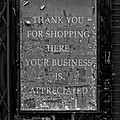 Thank You For Shopping Here by Robert Ullmann
