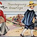 Thanksgiving, C1900 by Granger