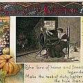 Thanksgiving Card, 1909 by Granger