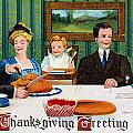 Thanksgiving Card, 1910 by Granger