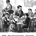 Thanksgiving Dinner, 1873 by Granger