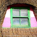 Thatched Roof Cottage Window by Kathleen Horner