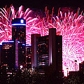 The 54th Annual Target Fireworks In Detroit Michigan by Gordon Dean II