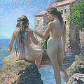 The Adriatic Sea Mmxi by Denis Chernov