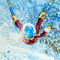 The Aerial Skier - 14 by Hanne Lore Koehler