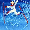The Aerial Skier 16 by Hanne Lore Koehler