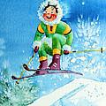 The Aerial Skier - 9 by Hanne Lore Koehler