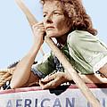 The African Queen, Katharine Hepburn by Everett
