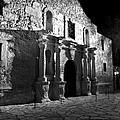 The Alamo At Night by Jim Chamberlain