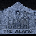 The Alamo In Cyan by Rob Hans