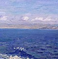 The Albanian Sea by Laurits Regner Tuxen