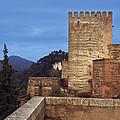 The Alcazaba The Alhambra by Guido Montanes Castillo