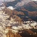 The Alps, Aerial Photograph by Carlos Dominguez