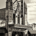 The Ambler Theater In Sepia by Bill Cannon
