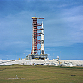 The Apollo Saturn 501 Launch Vehicle by Stocktrek Images