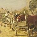 The Appian Way by Henry Herbert La Thangue