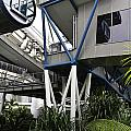 The Area Below The Capsules Of The Singapore Flyer by Ashish Agarwal