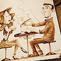 The Artist - Coffee Art by Dirceu Veiga
