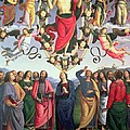 The Ascension Of Christ by Pietro Perugino