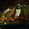 The Attributes Of Music by Anne Vallaer-Coster