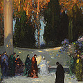 The Audience by TE Mostyn
