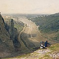 The Avon Gorge - Looking Over Clifton by Francis Danby