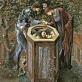 The Baleful Head by Edward Burne-Jones