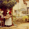 The Ballad Seller by Robert Walker Macbeth