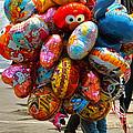 The Balloon Lady by Jocelyn Kahawai