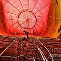 The Balloonist - Inside A Hot Air Balloon by Paul Ward