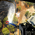 The Bambi Bucket Attached To A Ch-47 by Stocktrek Images