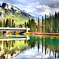 The Banff Bridge by Tara Turner