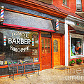The Barber Shop by Paul Ward