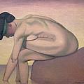 The Bather by Felix Edouard Vallotton