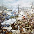 The Battle Of Pea Ridge, Arkansas by Everett