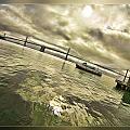 The Bay Bridge Cruz by Blake Richards