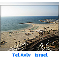 The Beach Promenade  Tel Aviv Israel by John Shiron