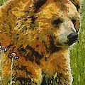 The Bear Painterly by Ernie Echols