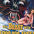 The Beast With A Million Eyes, 1955 by Everett