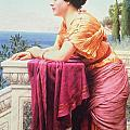 The Belvedere by John William Godward