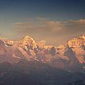 The Bernese Alps by Ulrich Burkhalter