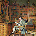 The Bibliophile by Johann Hamza