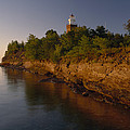 The Big Bay Point Lighthouse, Now A Bed by Phil Schermeister