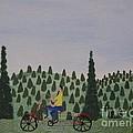 The Bike Rider by Gregory Davis