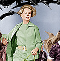 The Birds, Tippi Hedren Center, 1963 by Everett