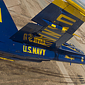 The Blue Angels Perform Over El Centro by Stocktrek Images