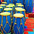 The Blue Drums by Jost Houk